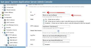 Glassfish default server